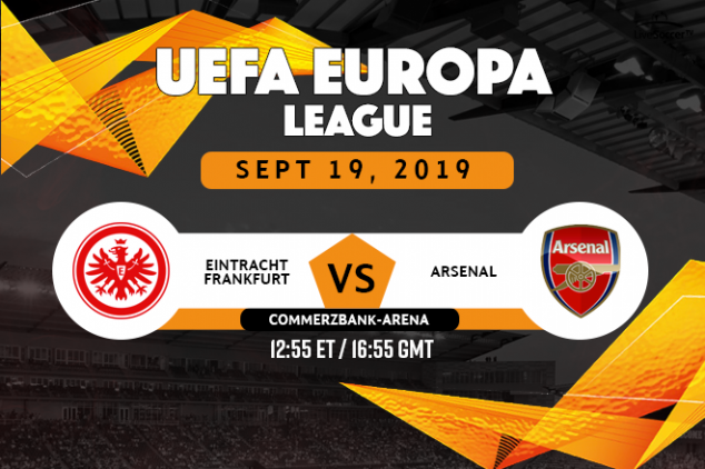 Eintracht Frankfurt vs Arsenal viewing info