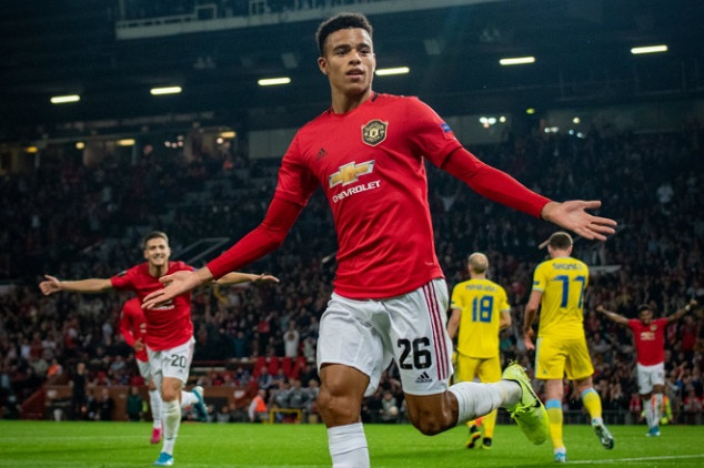 Greenwood makes history with 1st goal for Man Utd