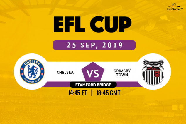 Chelsea vs Grimsby Town viewing info