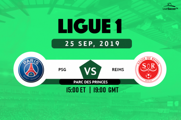 PSG vs Reims viewing info