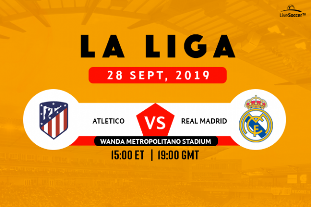 La Liga - Madrid derby broadcast info