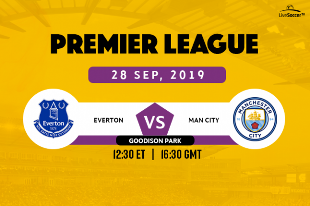 Everton vs Manchester City broadcast information
