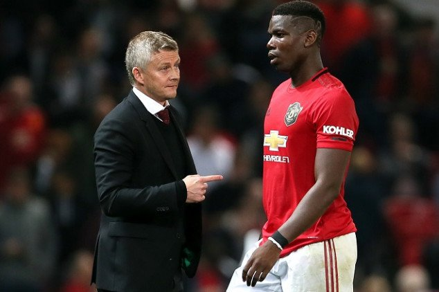 Solskjaer rules Pogba out of UEL clash