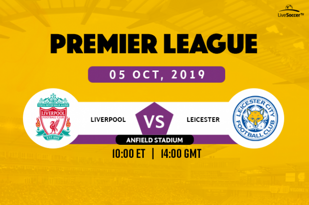 Liverpool vs Leicester broadcast info