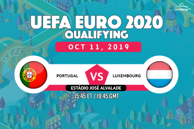 Portugal vs Luxembourg broadcast info