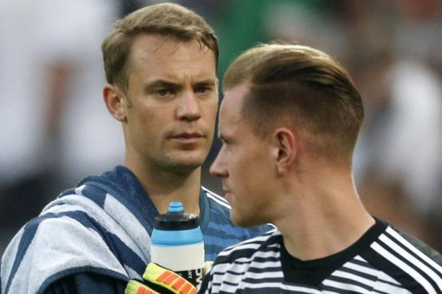 Ter Stegen addresses 'fallout' with Manuel Neuer