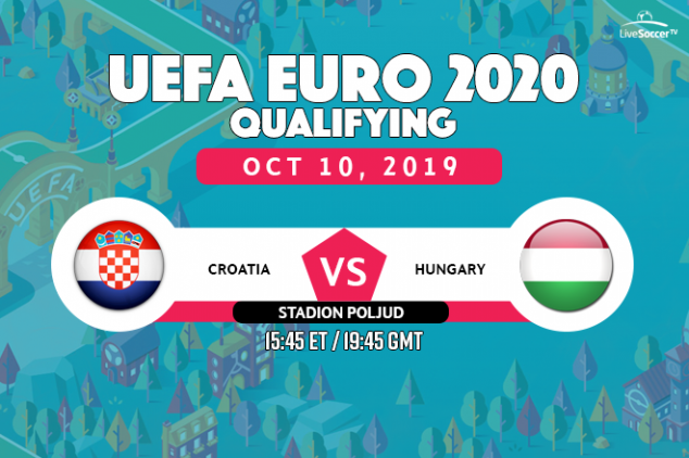 Croatia vs Hungary viewing info