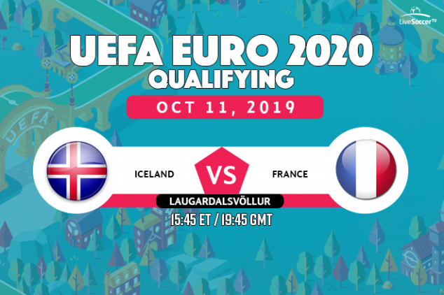 Iceland vs France viewing info