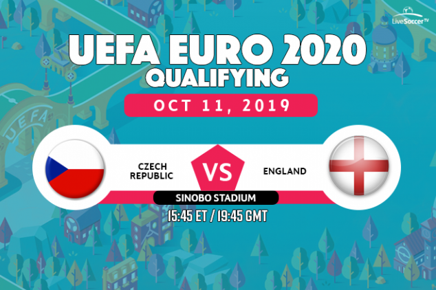 Czech Republic vs England viewing info