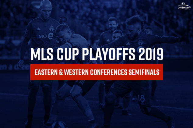 Watch the 2019 MLS Cup conference semi-finals live