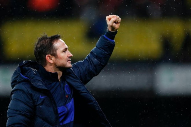 Lampard matches 30-year record with a Watford win
