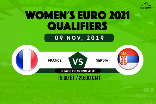 France vs Serbia (Women's) viewing info