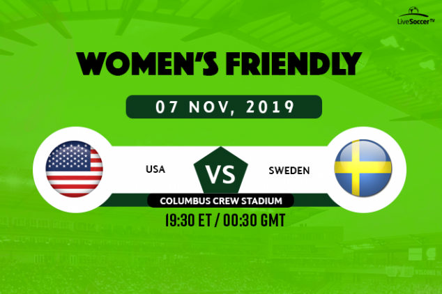 USWNT vs Sweden viewing info