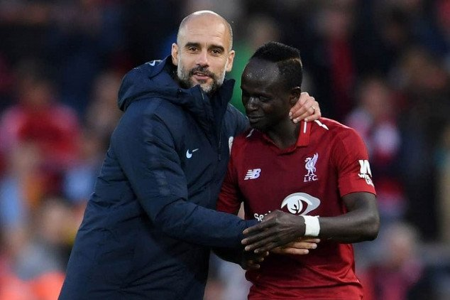 Mané hits back at Pep over 'diving' claims