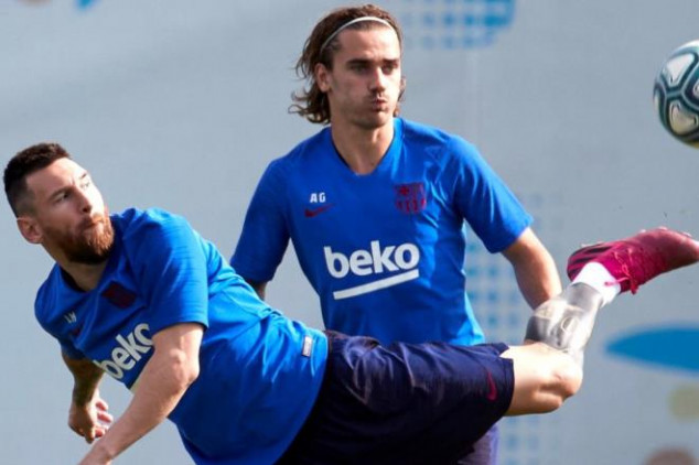 Report: Messi and Griezmann not on speaking terms