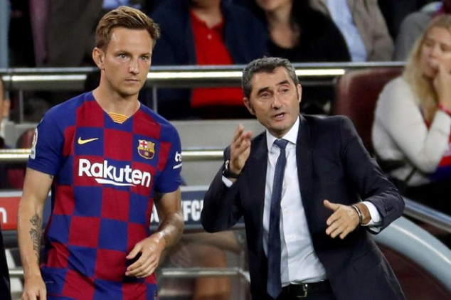 Rakitic aims dig at Valverde in recent interview