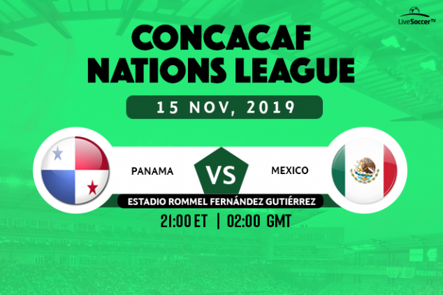 CONCACAF NL - Panama vs Mexico broadcast info