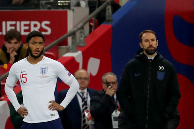 Southgate slams the fans after Gomez incident