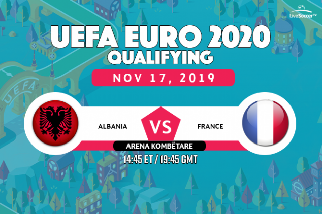 Albania vs France viewing info