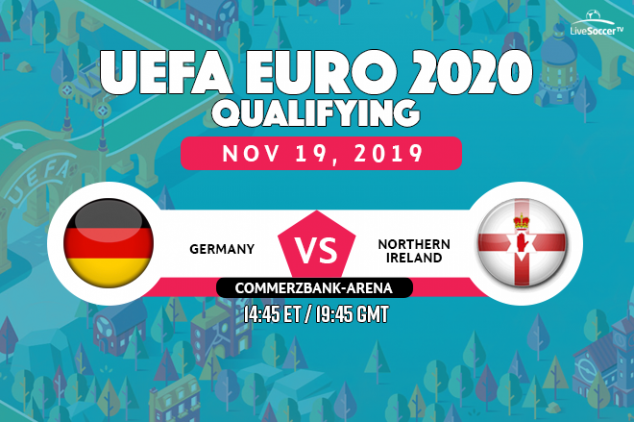 Germany vs Northern Ireland viewing info
