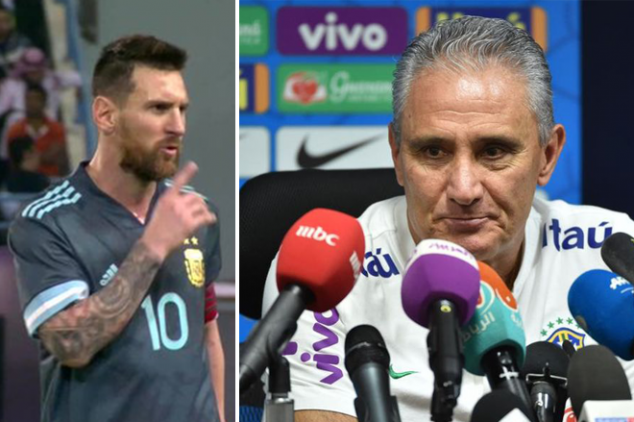 Watch: Why Messi shushed Tite
