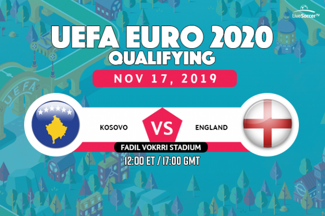 Kosovo vs England preview and broadcast info