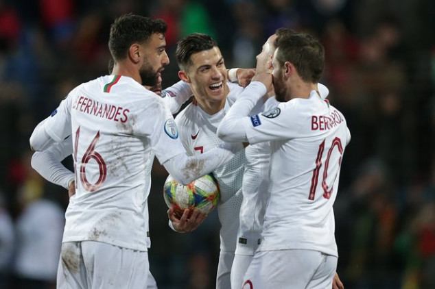 Ronaldo sets new Portugal record in Luxembourg win