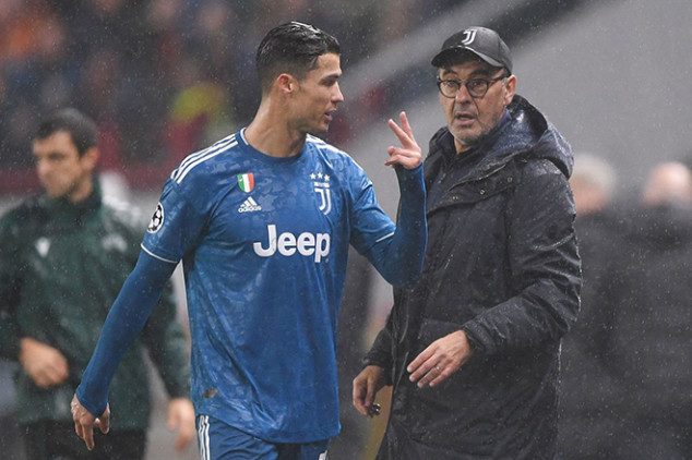 CR7 opens up about alleged rift with Sarri