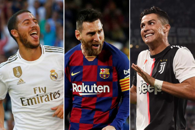 Revealed: The world's best dribblers since 2006