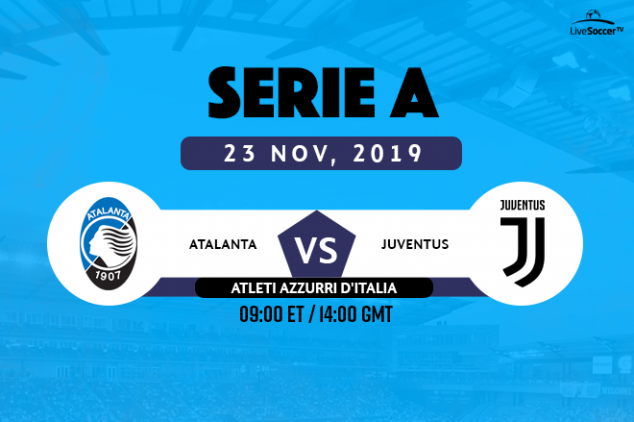 Atalanta vs Juventus viewing info