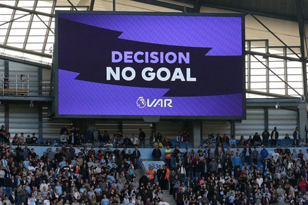 Four VAR mistakes in the EPL confirmed