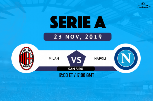 AC Milan vs Napoli viewing info