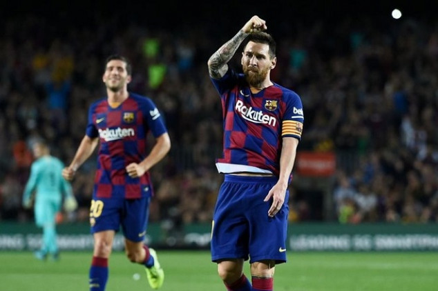Messi sets yet another UCL record vs Dortmund