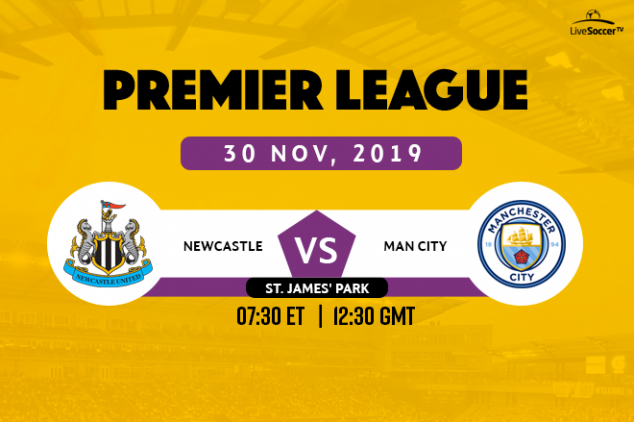 Newcastle vs Manchester City broadcast info