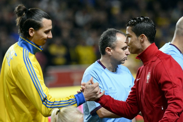Ibra slams CR7 as Serie A return is inminent