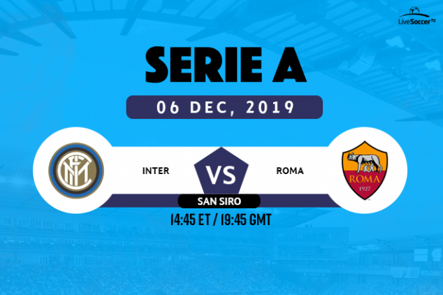 Inter vs Roma viewing info