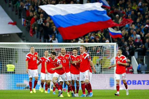 Russia banned from Qatar 2022