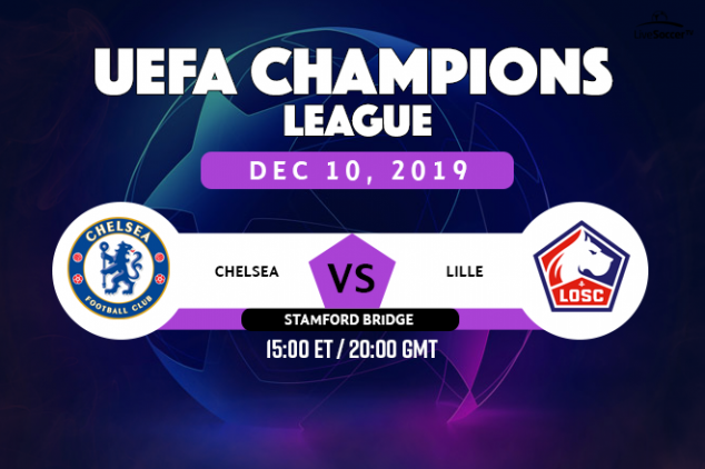 Chelsea vs Lille viewing info