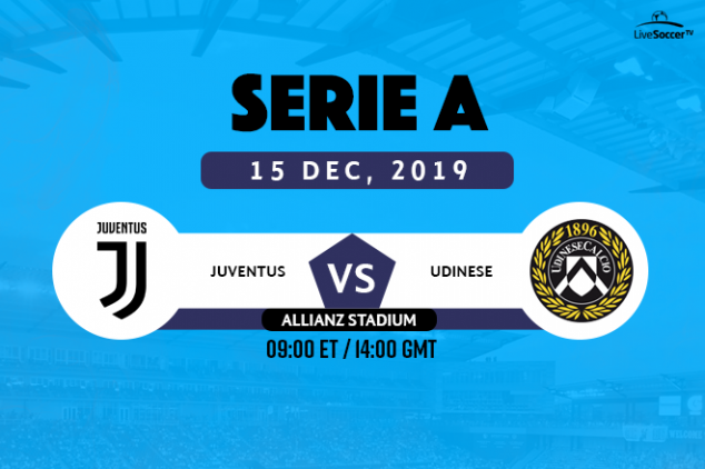 Juventus vs Udinese viewing info