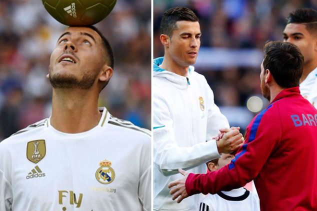 El Clasico: Messi gives honest opinion on Hazard