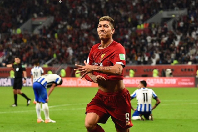 Firmino scores late goal for Liverpool in Club WC