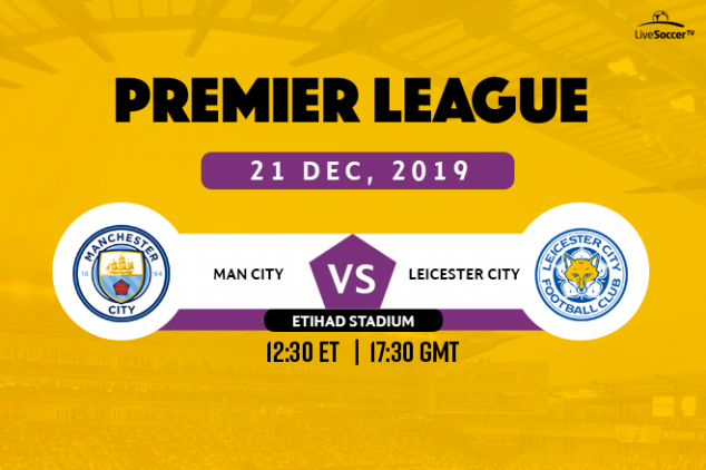 Manchester City vs Leicester City viewing info