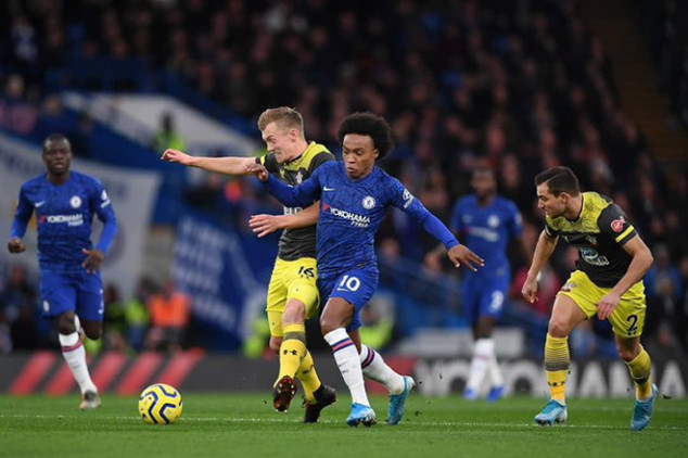 Chelsea set unwanted feat in 2-0 Southampton loss