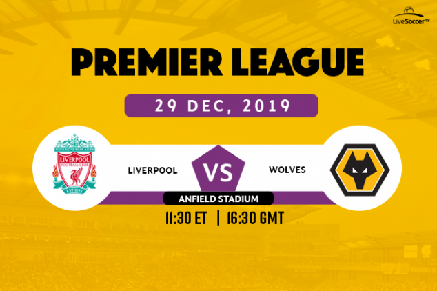 EPL - Liverpool vs Wolves broadcast info