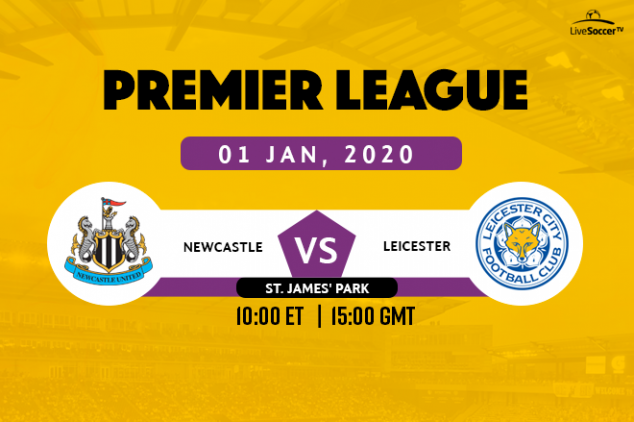 Newcastle United vs Leicester City broadcast info