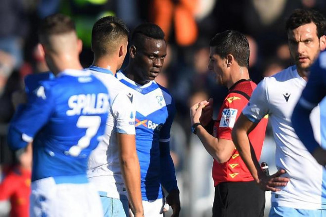 Balotelli hits out at Lazio fans over racist chant