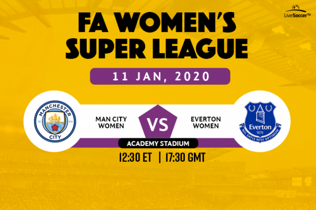 Manchester City hosts Everton in FA WSL