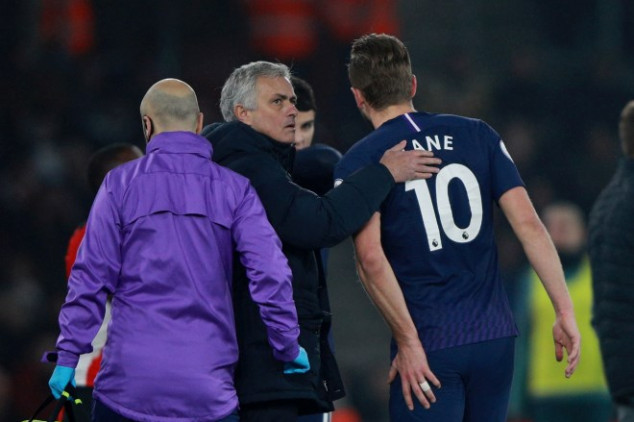Jose Mourinho hints at Harry Kane potentially miss