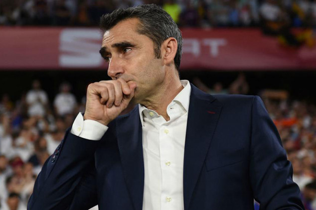 Valverde pens classy farewell letter to Barca fans