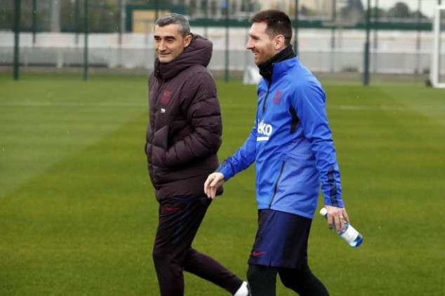 Messi sends classy farewell message to Valverde